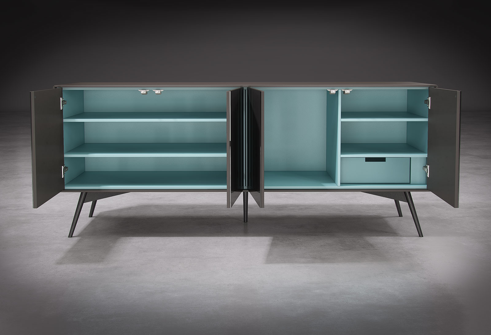 2m christopher sb bijan interiors toronto 39 s modern for Sideboard 2m