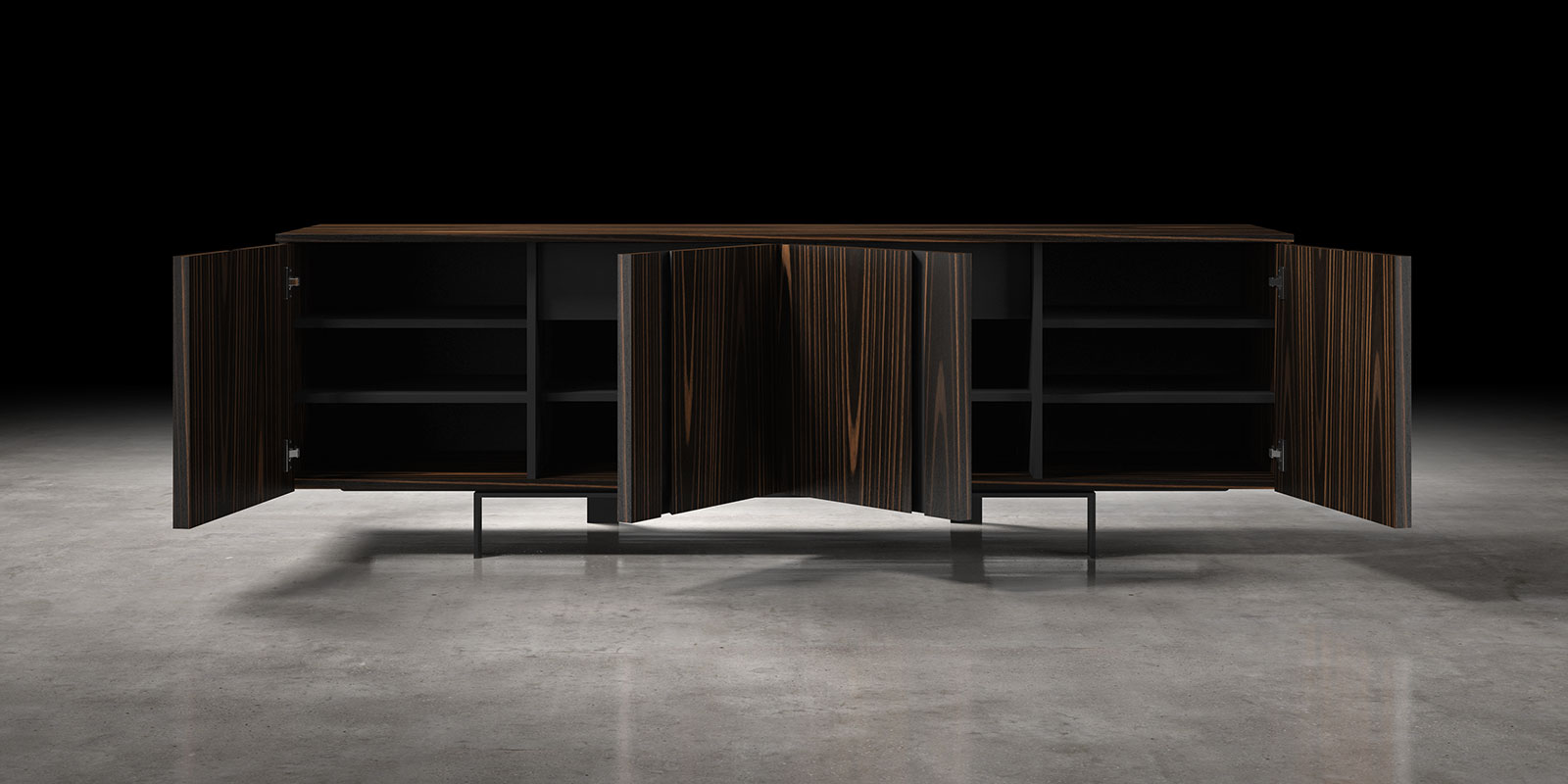 2m mott bijan interiors toronto 39 s modern furniture store for Sideboard 2m