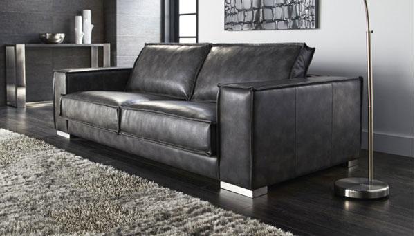 Baretto Leather Sofa Toronto Modern Leather Furniture