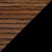 Black Glass on Rovere Grigio