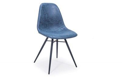 Paris -DC Navy Blue Dining Chair