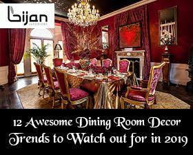 Dining Room Decor Trends 2019