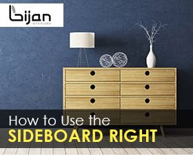 use sideboard right