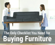 The Only Checklist You Need for Buying Furniture (Featured)