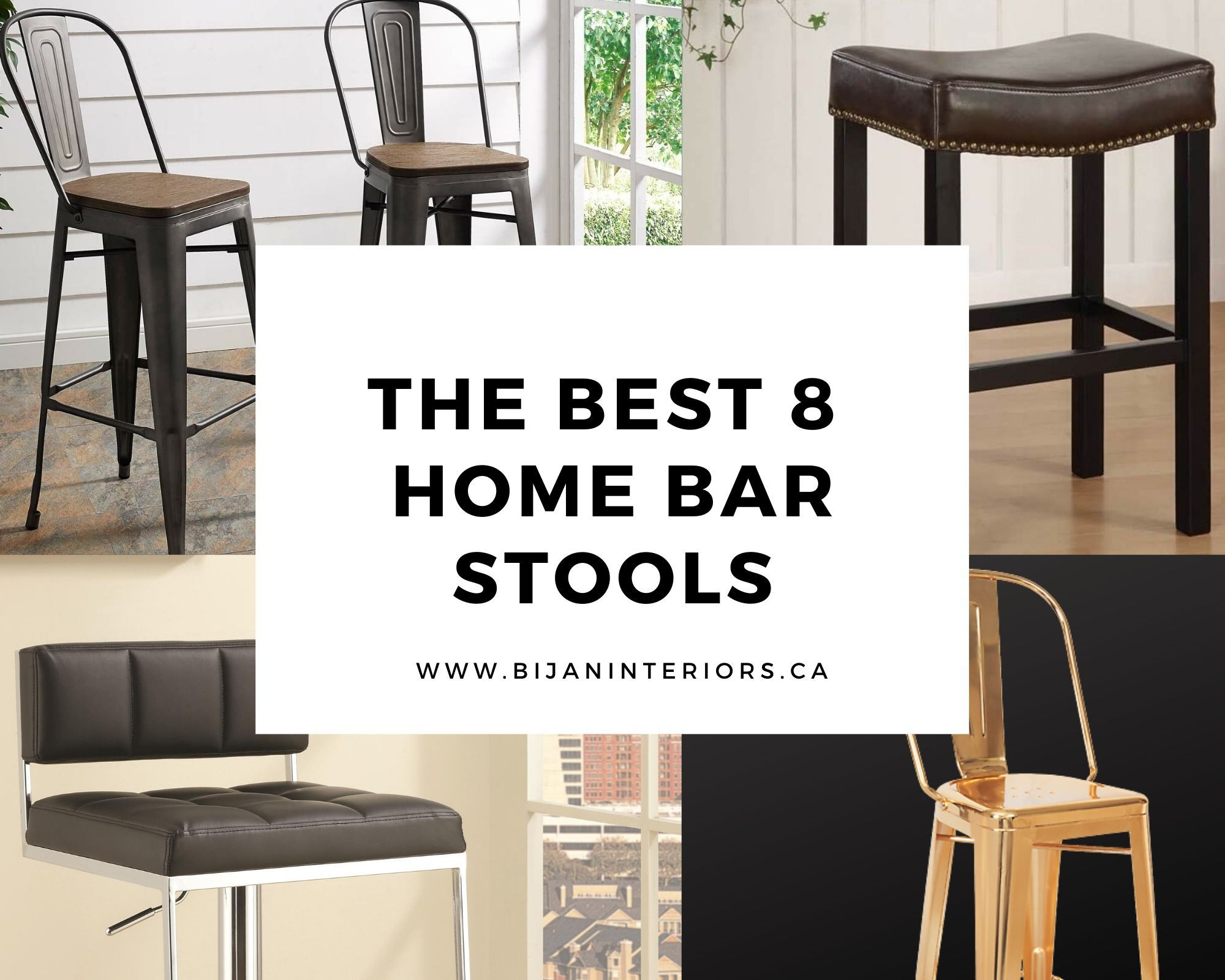 The Best 8 Home Bar Stools