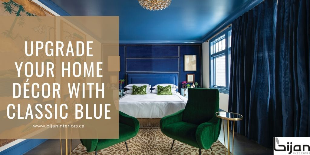 Upgrade Your Home Décor with Classic Blue